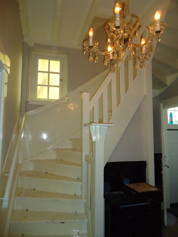 Binnenschilderwerken - afwerking van de trap